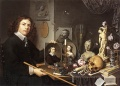 David-Bailly-Self-Potrait with Vanitas Symbols-Dutch-1651.jpeg