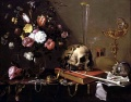 Adriaen van utrecht- vanitas - still life with bouquet and skull-1642.jpeg