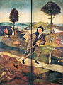 The Pedlar, closed state of The Hay Wain by Hieronymus Bosch.jpg